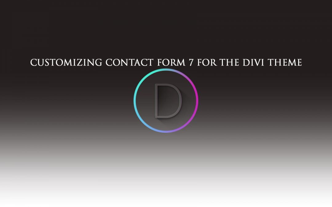 Customizing Contact Form 7 for The Divi Theme