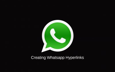 Creating Whatsapp Hyperlinks